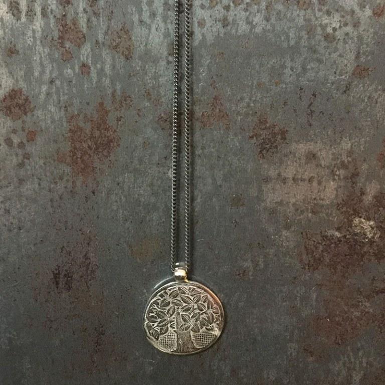 Pendentif Médaille Arbre