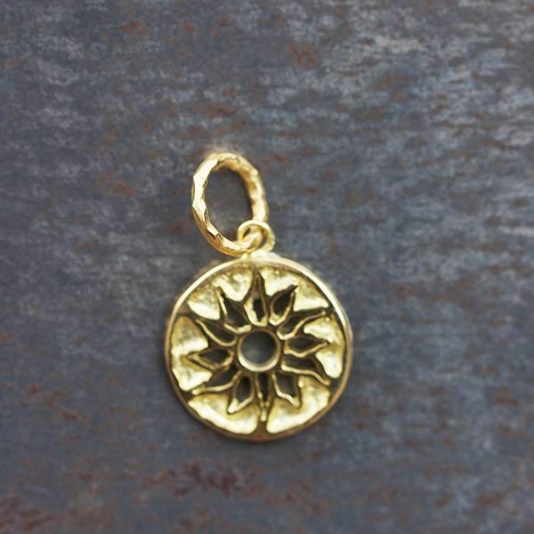Médaille Or Soleil Aztèque
