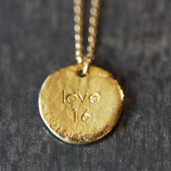 Médaille Love
