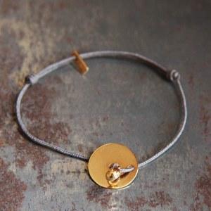 Bracelet Disque Lovepépite Or
