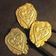 Collier Coeur Antique