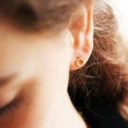 Boucles d'oreilles Rosée