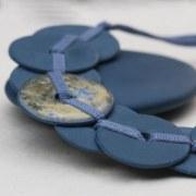 Ras du Cou Porcelaine bleue