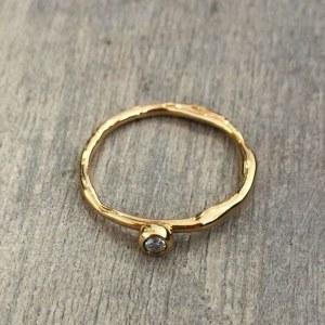 Alliance Première Rosée or/diamant