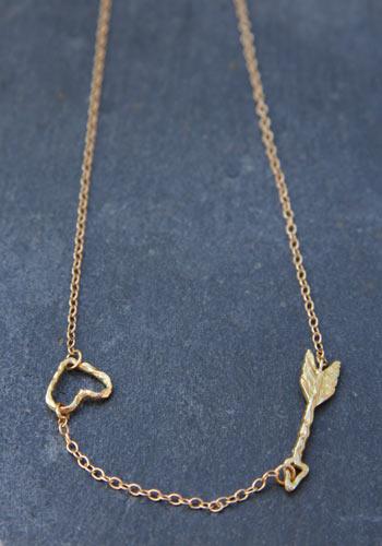 Collier flèche d'Amour