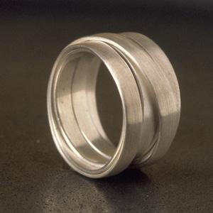 Infinity Satin Ring